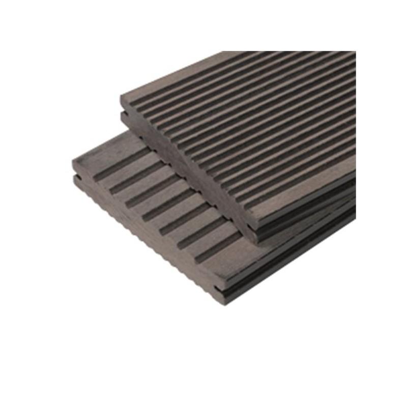 pack 1 m lame de terrasse composite maxima accessoires 3. Black Bedroom Furniture Sets. Home Design Ideas