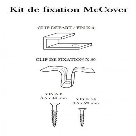 Kit De Fixation Terrasse Bois Composite Mccover