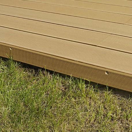 Plinthe finition terrasse bois composite - McCover