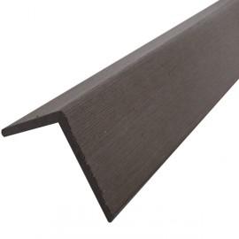 Profil d'angle bois composite pour bardage