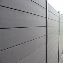 Lame de clôture bois composite