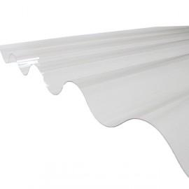 Plaque PVC ondulée (GO 177/51 - grandes ondes)