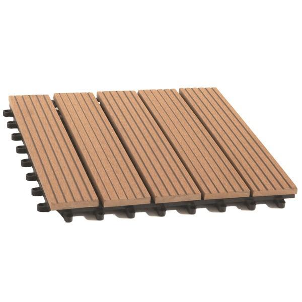 Dalle De Terrasse Bois Composite Modular Mccover