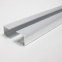 Polycarbonate roof blanking profile ( x 2 pieces)