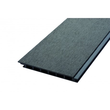 Lame de bardage bois composite alvéolaire longueur utile 2700mm