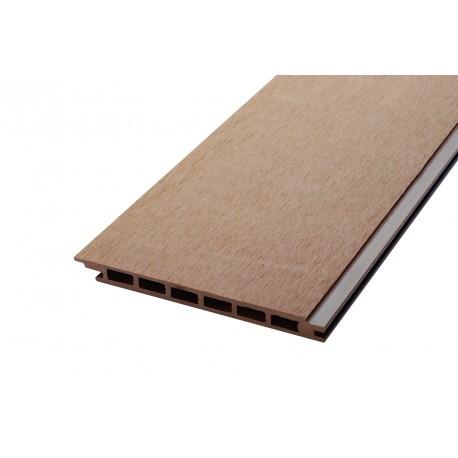 lame de bardage bois composite alv olaire l 270 cm l 17. Black Bedroom Furniture Sets. Home Design Ideas
