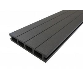 Lame terrasse bois composite alvéolaire Qualita 360 cm