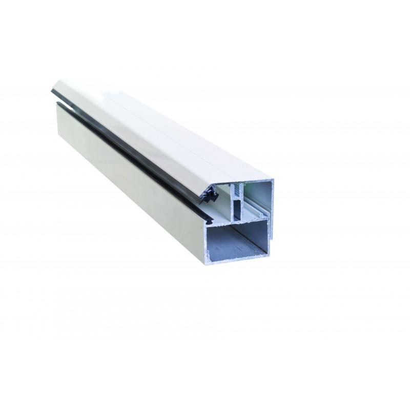 profil de bordure porteur adaptable au polycarbonate 16 32. Black Bedroom Furniture Sets. Home Design Ideas
