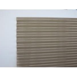 Plaque PVC ondulée PO