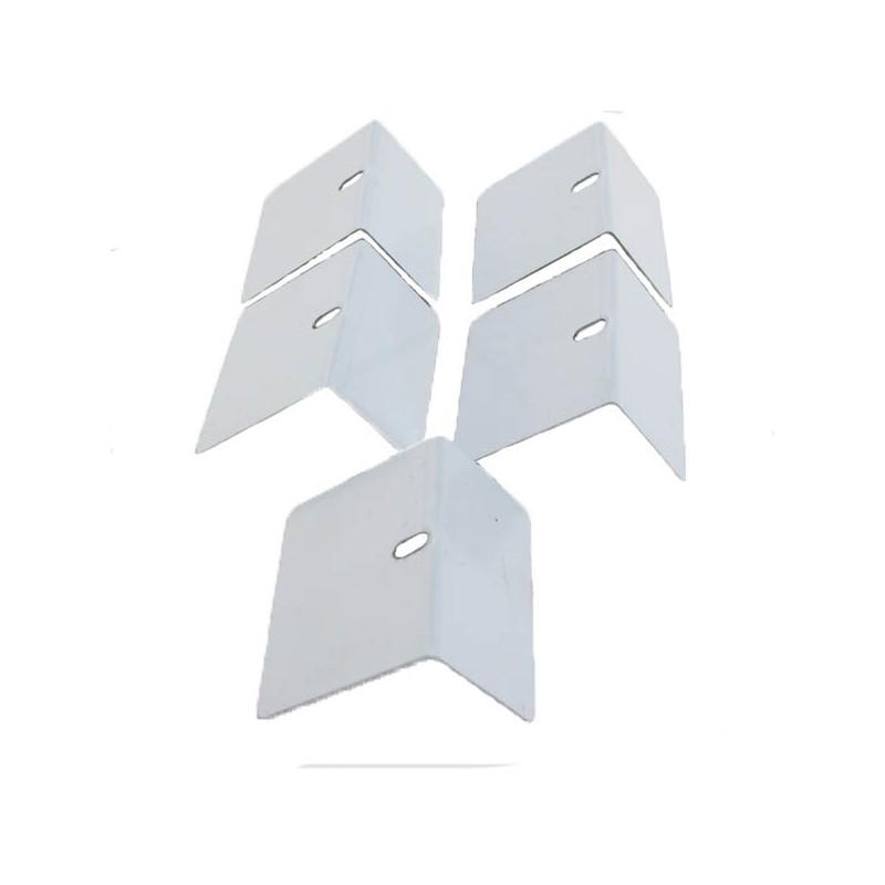 Arr t aluminium de plaque polycarbonate x5 mccover - Pose plaque polycarbonate ...