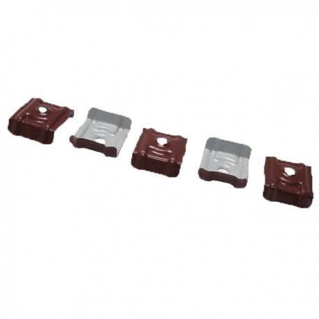 Plaquette cavalier pour bac acier galvanisé laqué 900/25 (x25)