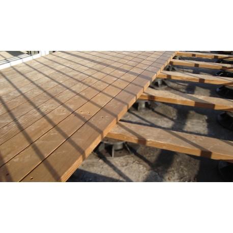 Plot Réglable De à Mm Pour Terrasse Bois Et Composite McCover - Terrasse bois sur plots reglables