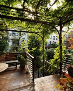 terrasse bois composite pour patio