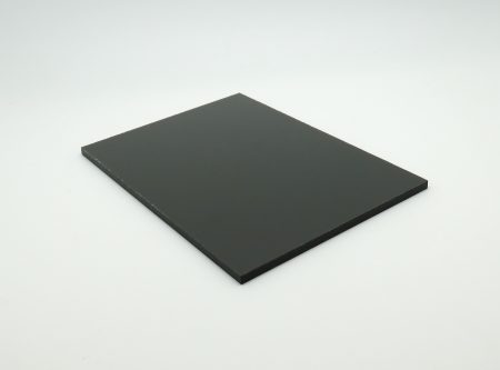 Plaque pour bardage maison moderne gris anthracite