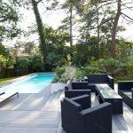 Lame de terrasse en bois composite alveolaire dual