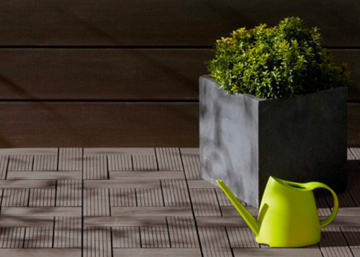 Dalle terrasse composite installation rapide